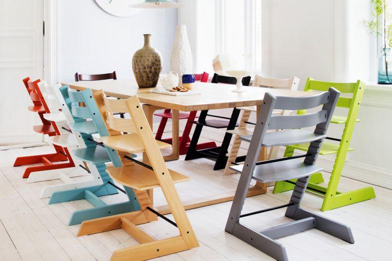 Stokke: design (scandinavo) a misura di bambino