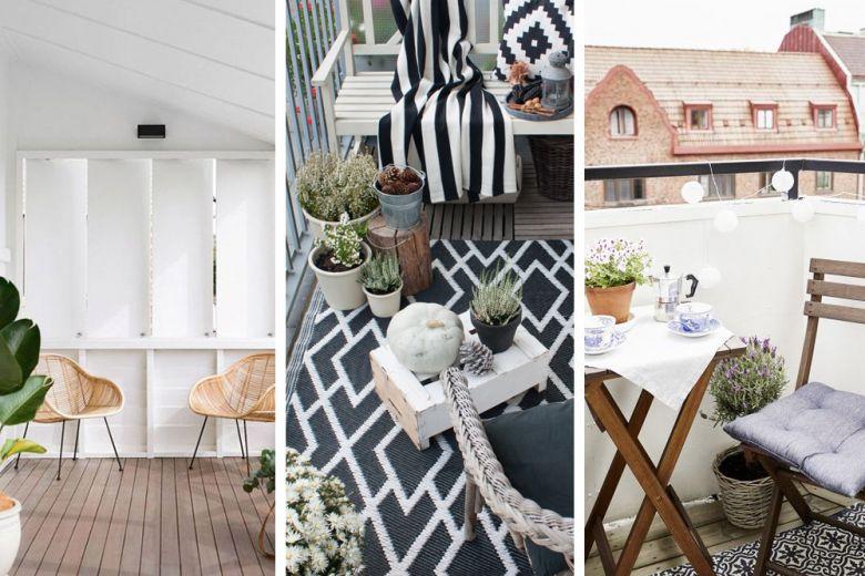 10 idee facili e low cost per arredare il terrazzo