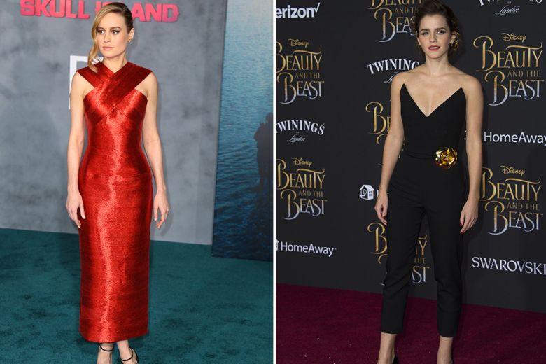 Le star best dressed: Emma Watson, Brie Larson e colleghe