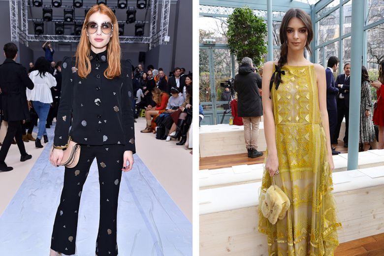 Paris Fashion Week: le star nel front row delle sfilate