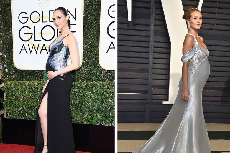 Le star con i look premaman più glamour di Hollywood