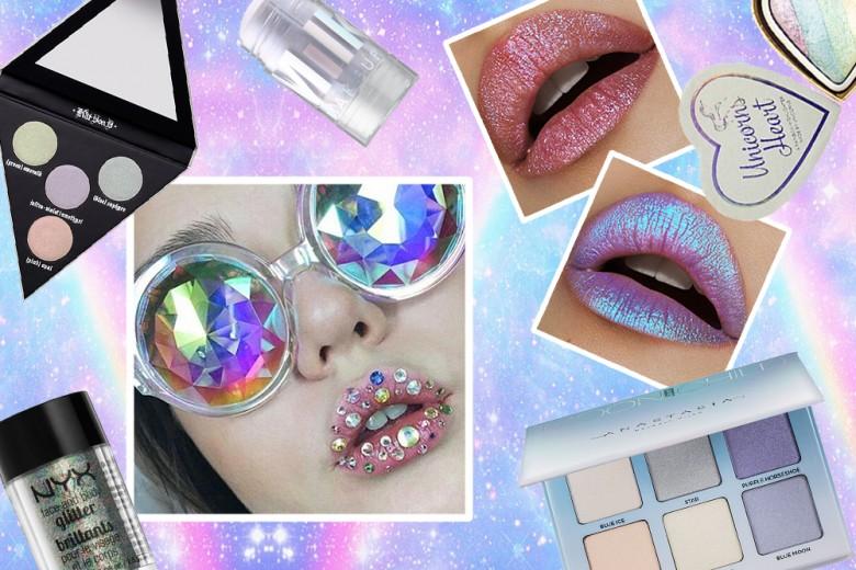 Make up olografico: i prodotti cangianti per brillare come unicorni