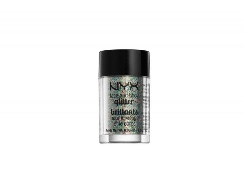 make up olografico glitter viso e corpo nyx cosmetics