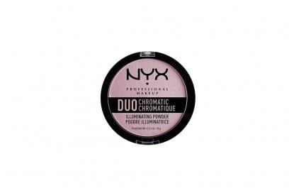 make up olografico illuminante lilla NYX-Cosmetics-Duo-Chromatic-Illuminating-Powder