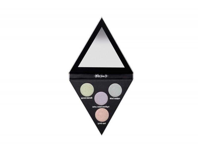 make up olografico palette illuminanti kat von d