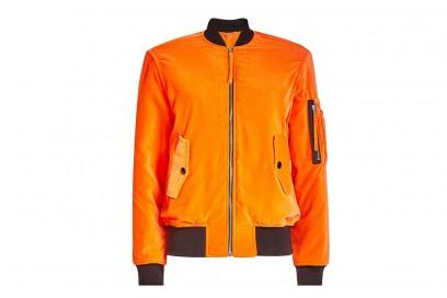 moschino bomber arancione
