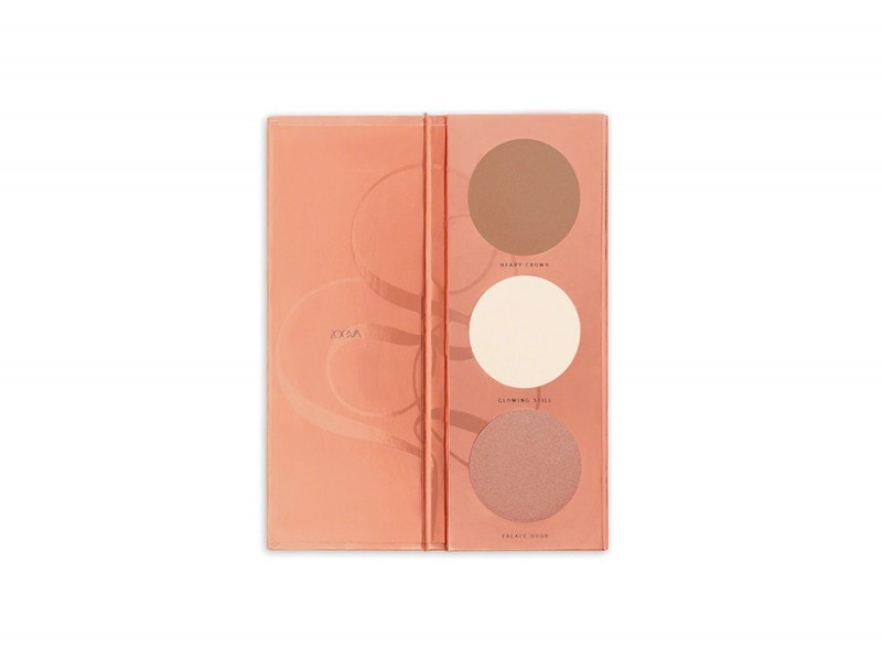 palette contouring economica zoeva rose golden