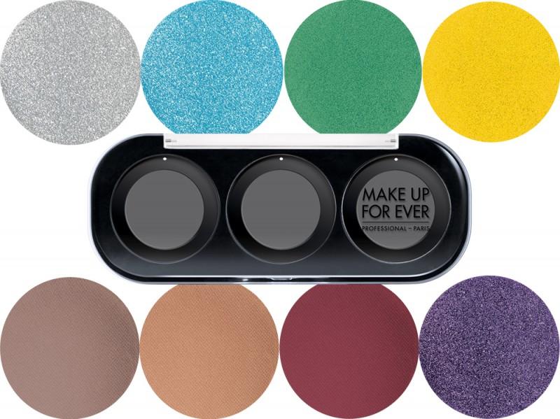palette ombretti personalizzabili make up for ever