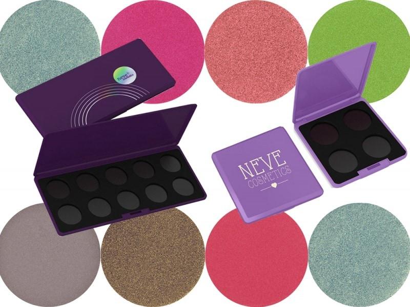 palette ombretti personalizzabili neve cosmetics