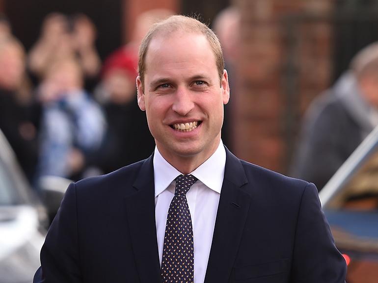 principe william sorriso
