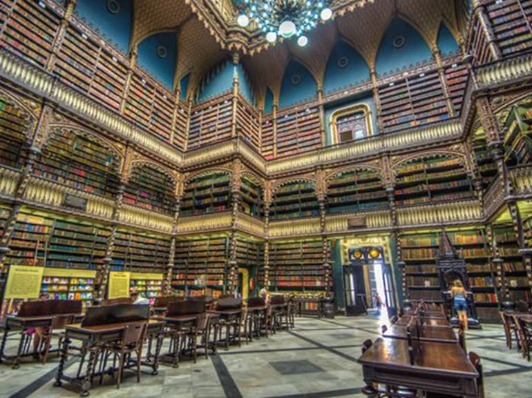 royal portuguese biblioteca rio de janeiro