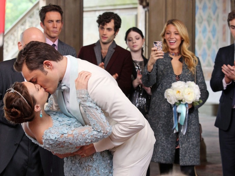 'Gossip Girl' films a wedding
