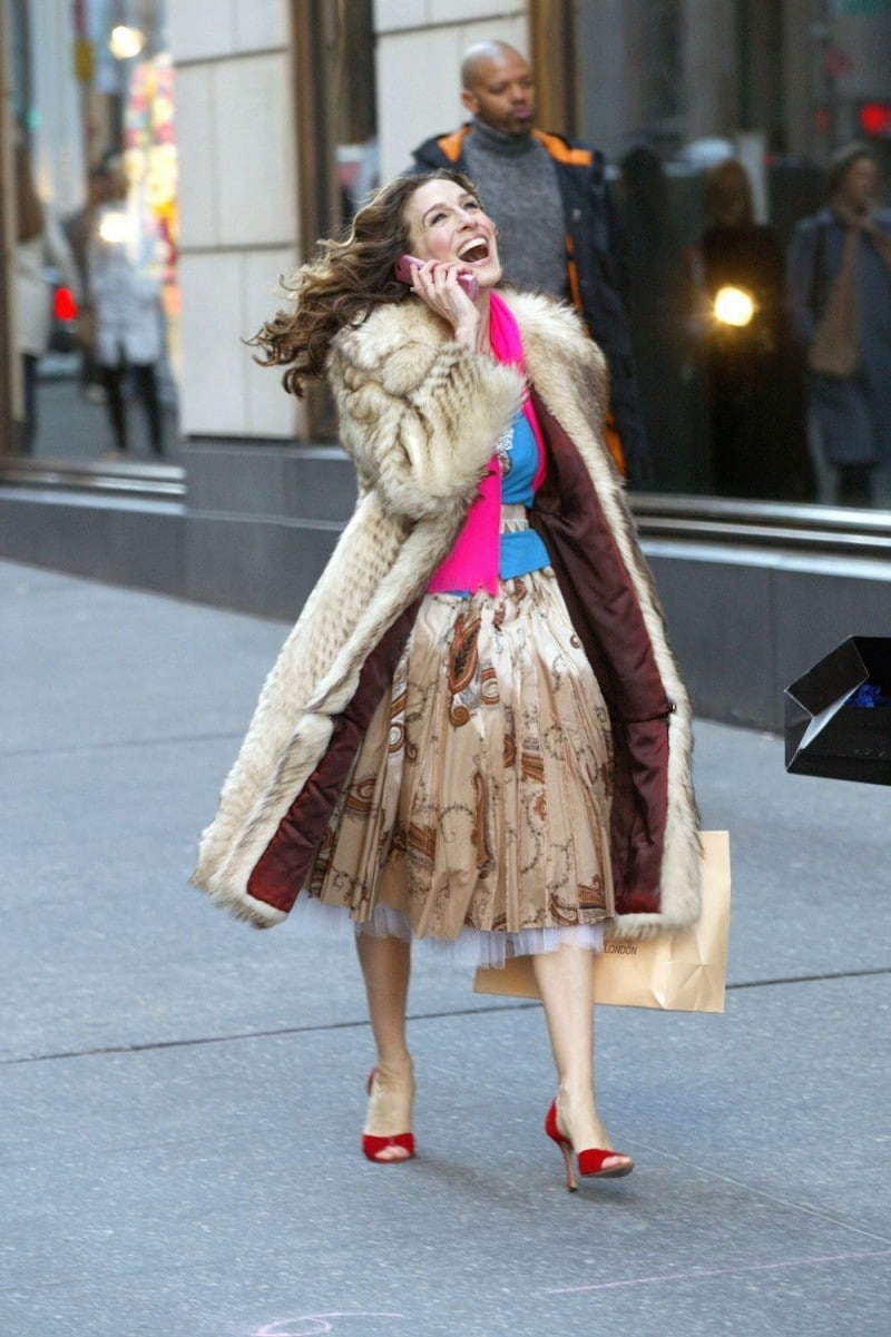 FINAL DAY OF FILMING SEX AND THE CITY TV SHOW, NEW YORK, AMERICA – 04 FEB 2004