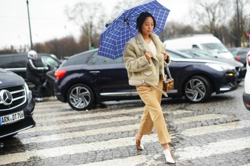 street style parigi 17 aviator jacket