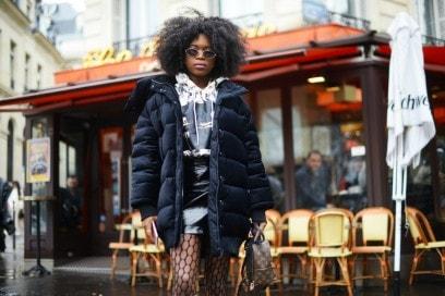 street style parigi 17 piumino