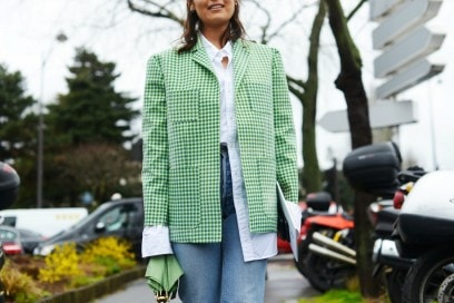 street style parigi 17 rachael wang verde
