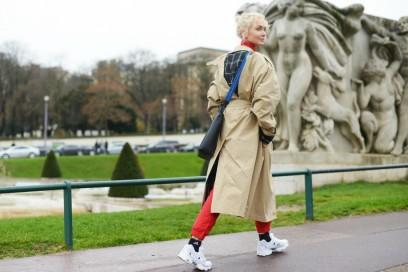street style parigi 17 sneakers