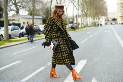 street style parigi look retro
