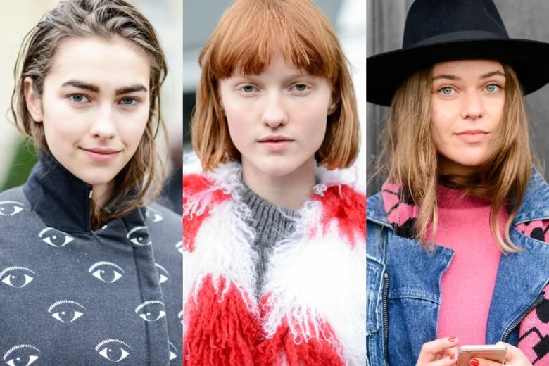Tagli di capelli e acconciature street style da Parigi