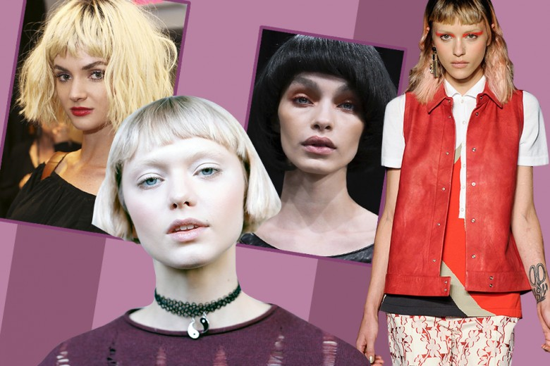Tendenze capelli 2017: i tagli pari più glam per la Primavera Estate