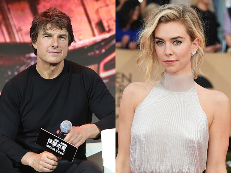 tom cruise Vanessa Kirby collage