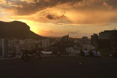 tramonto forte port louis