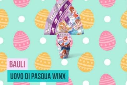 uova di pasqua winx bauli 2017