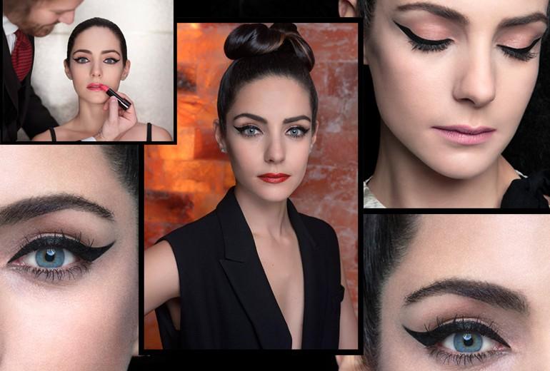 Shiseido e Valentina Corti: un beauty look ispirato al Giappone
