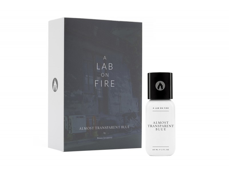 A Lab On Fire – Almost transparent blue