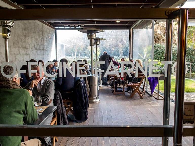 Bistrot Officine Farneto ristorante Roma