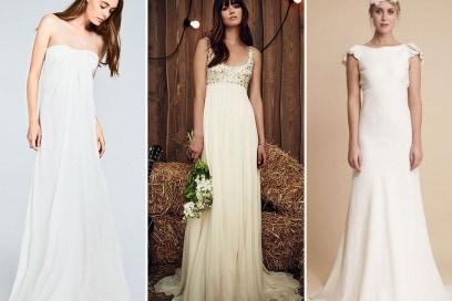 Abiti da sposa : i modelli in stile impero
