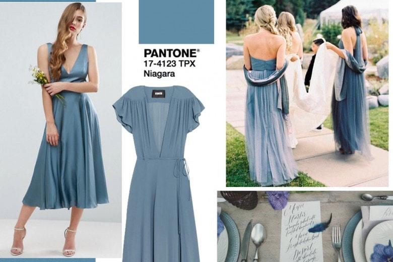 Blu Niagara: il nuovo colore-trend per i matrimoni