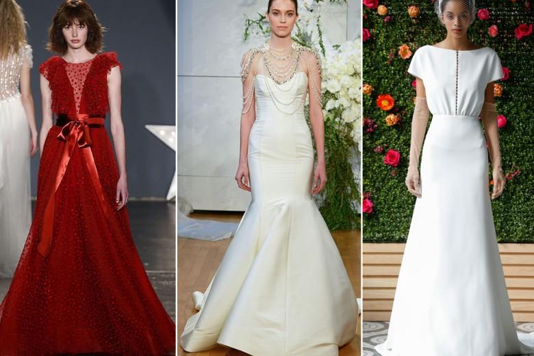 Gli abiti da sposa per il 2018 dalla New York Bridal Fashion Week