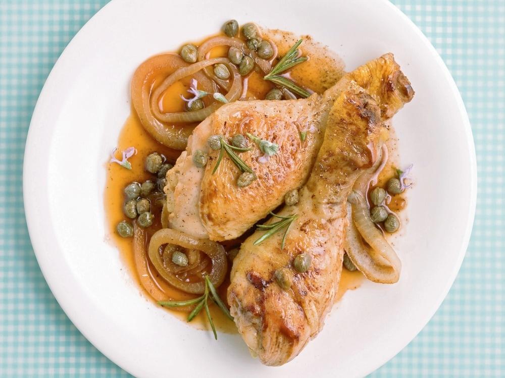 Cosce di pollo all agro (3)
