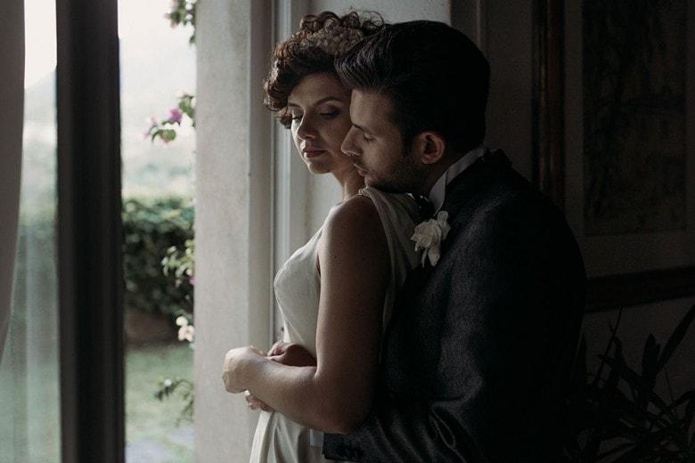 Eleonora e Gianluca: matrimonio in stile rétro