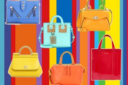 Colori pop per le borse estive
