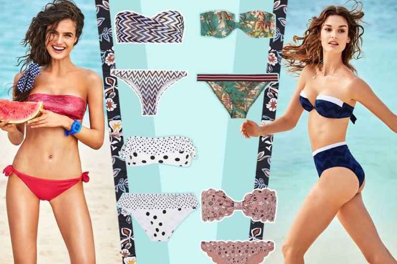 Costumi a fascia: i modelli per l'estate 2017