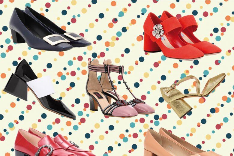 Scarpe con punta quadrata: è tendenza