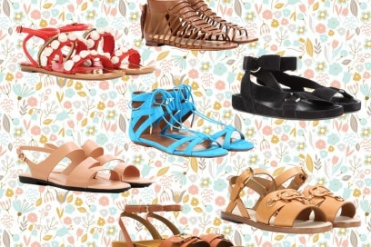 I sandali giusti per l'estate sono flat