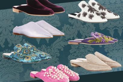 Le slippers per la Primavera-Estate sono chic