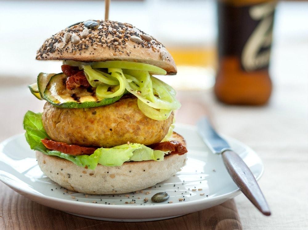 Hamburger di pollo allo zafferano (3)