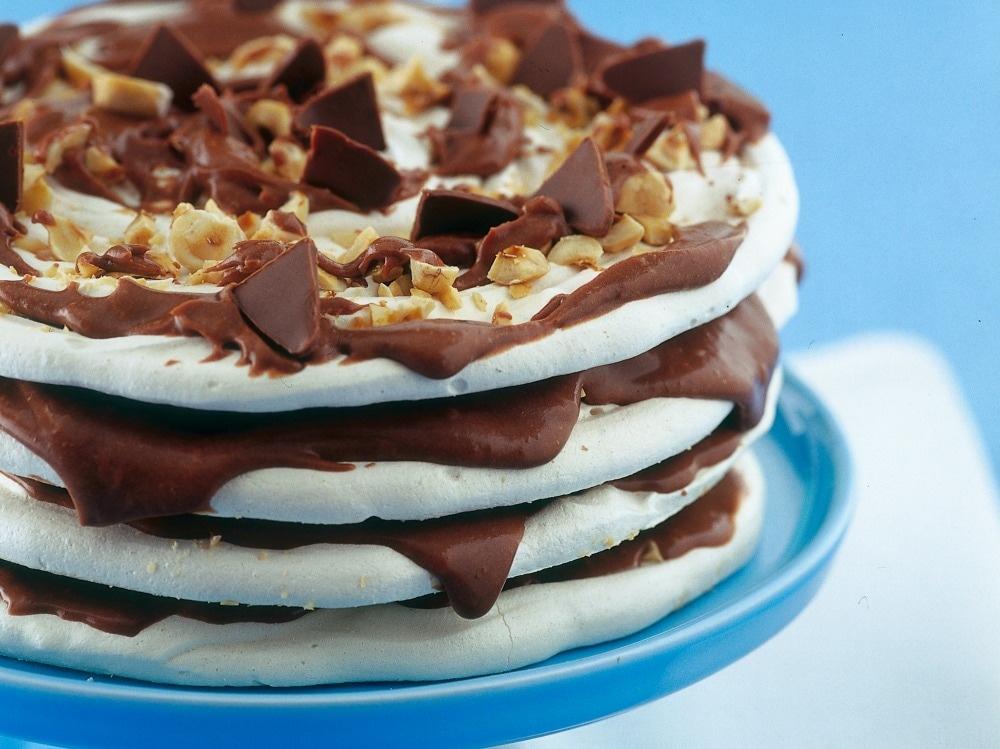 Torta di meringhe alla Nutella ® 4)