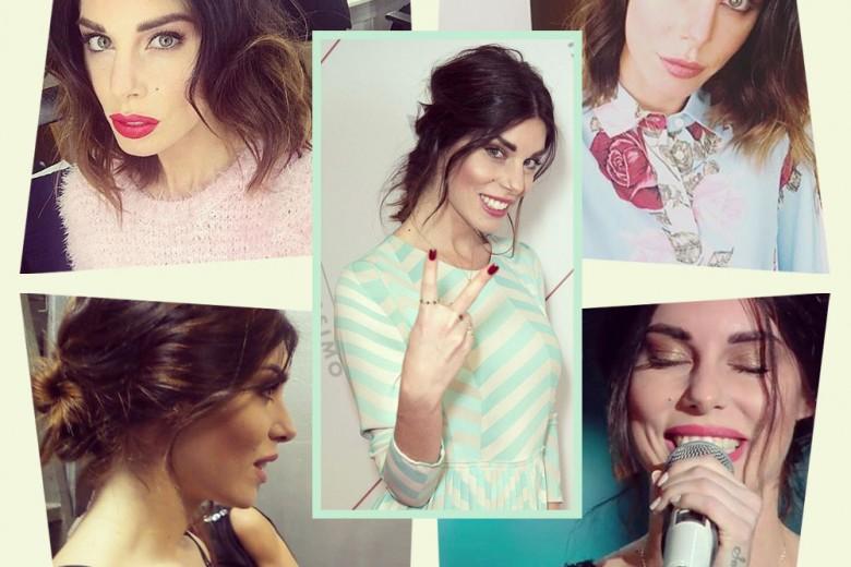 Bianca Atzei beauty look: i più belli della cantante
