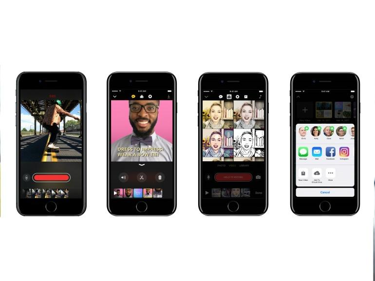 clips app per montare video