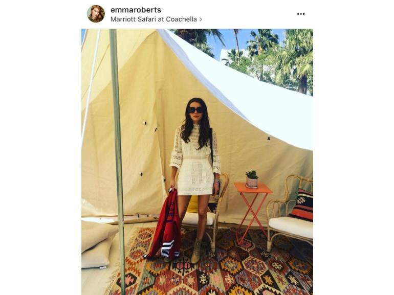 coachella emma roberts