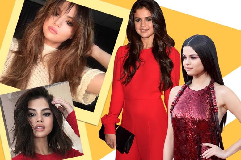 Selena Gomez capelli: l'evoluzione dei suoi hair look