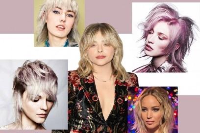 Taglio shag: il long bob per capelli dall'anima rock