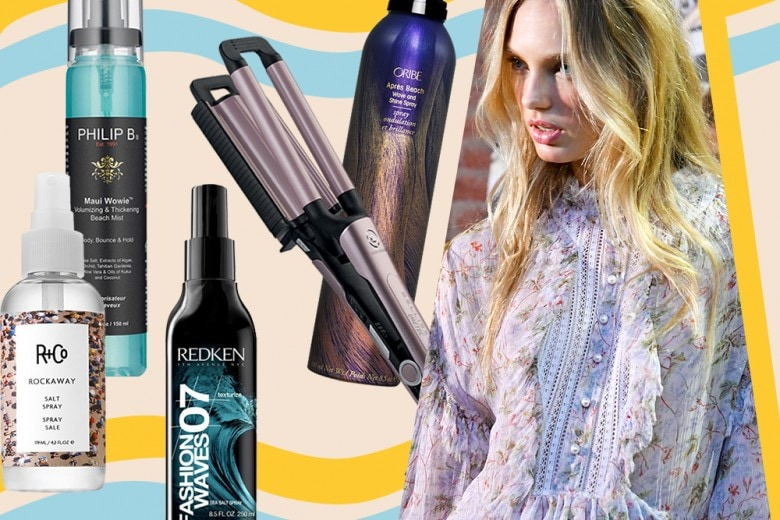 Capelli ondulati: le beach waves California style