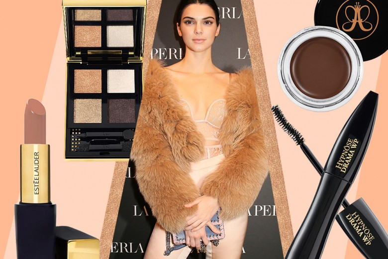 Kendall Jenner make up: copia il suo look nude chic