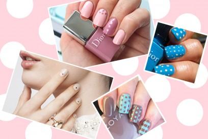 Dot manicure: le nail art a pois più glam da replicare